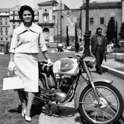 Massimo Caprini - Mia madre, Roma, credo 1961 a San Giovanni