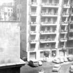 Mauro Proietti - Agosto 1970. scorcio di piazza San Dona' di Piave (foto scattata da una finestra di via Alba)
