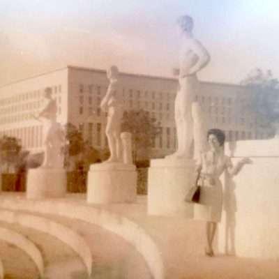 Michelangelo Ciotti - Mia suocera 1960, Stadio dei Marmi