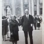 Paola Petrini - I miei nonni, piazza S.Pietro, 1967