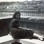 Patrizia Camilloni - Roma anni 50, Aventino Parco degli Aranci. Una giovanissima Maria Baiocchi, mia suocera