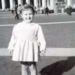 Patrizia Panebianco - 1960 Io bambina a Piazza San Pietro