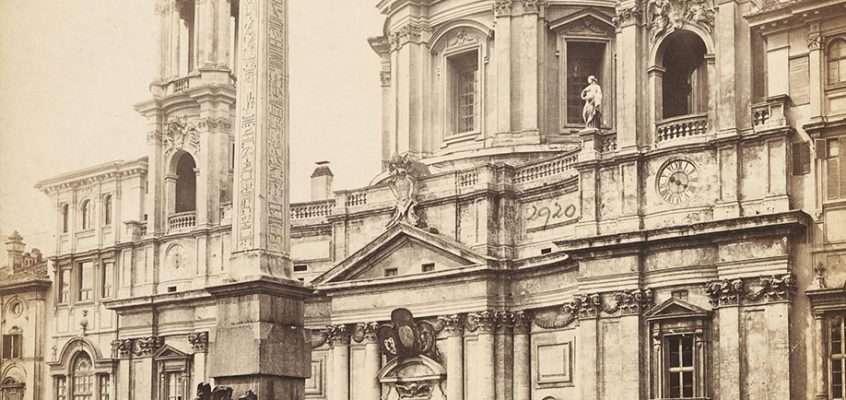 Piazza Navona (1870 ca)