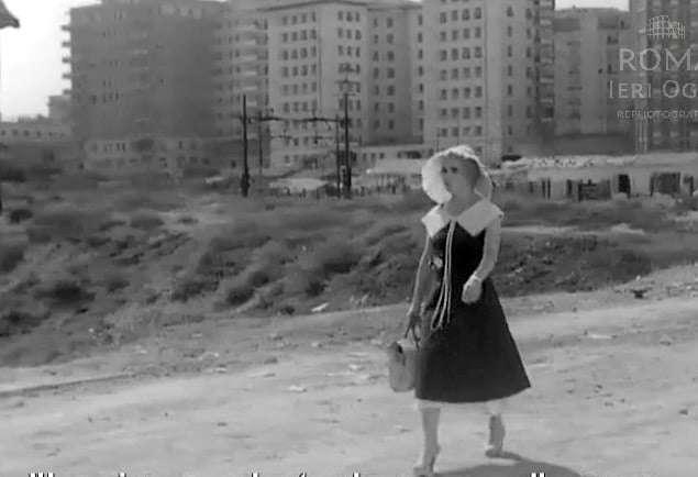 Piccola Posta (1955) scena