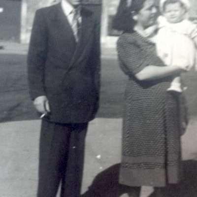 Planeta Mirella - 1949. Con mamma e papa' a Largo Argentina