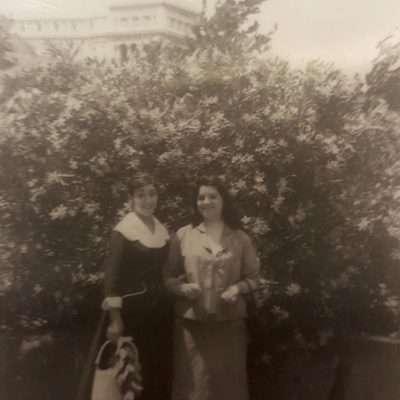 Roberta Cialini - Mia mamma e sua cugina Anni 50 circa