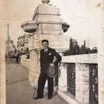 Roberto Giordani - Ecco mio padre Dino nel 1935 su ponte Tazio