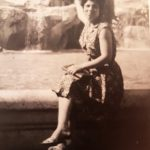 Santo Nardi - Fontana di Trevi.Mamma nel 1967