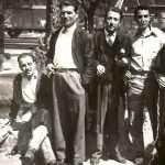 Tiziana Ferretti Privato - mio nonno alla stazione tiburtina fine anni 50