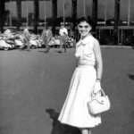Tiziana Ferretti Privato - una amica di mia mamma alla stazione termini fine anni 50