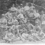 Valfredo Porega - Mio padre nel 1923 militare con la chitarra