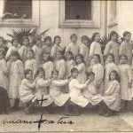 Vanda Sanzogni - Mia nonna, Vanda Bruni, alla scuola elementare (non so quale, ma viveva con i suoi genitori a Trastevere)