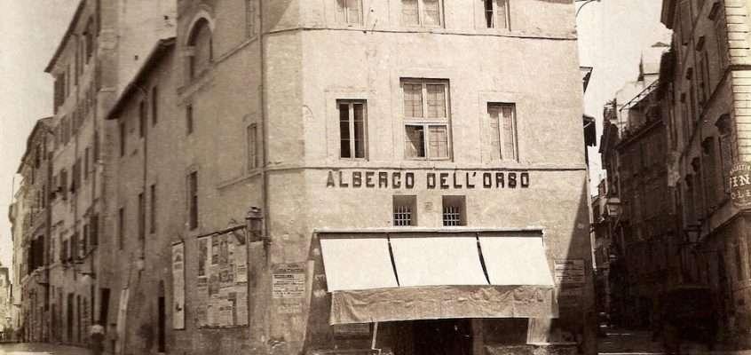 Albergo dell'Orso (Moscioni, 1886)