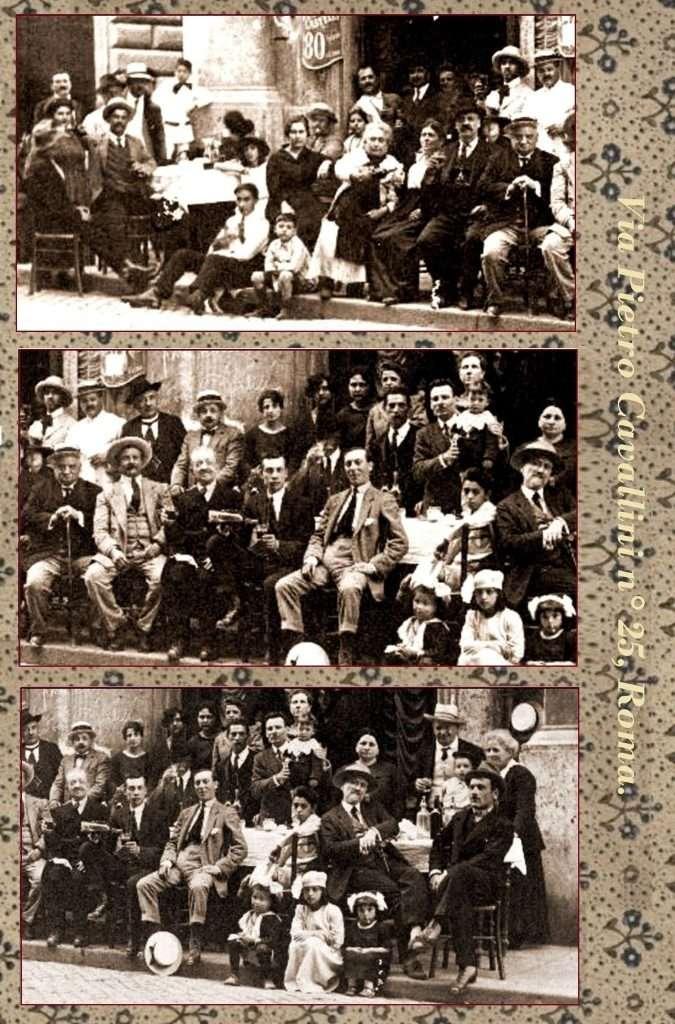via pietro cavallini 1920 roma ieri oggi