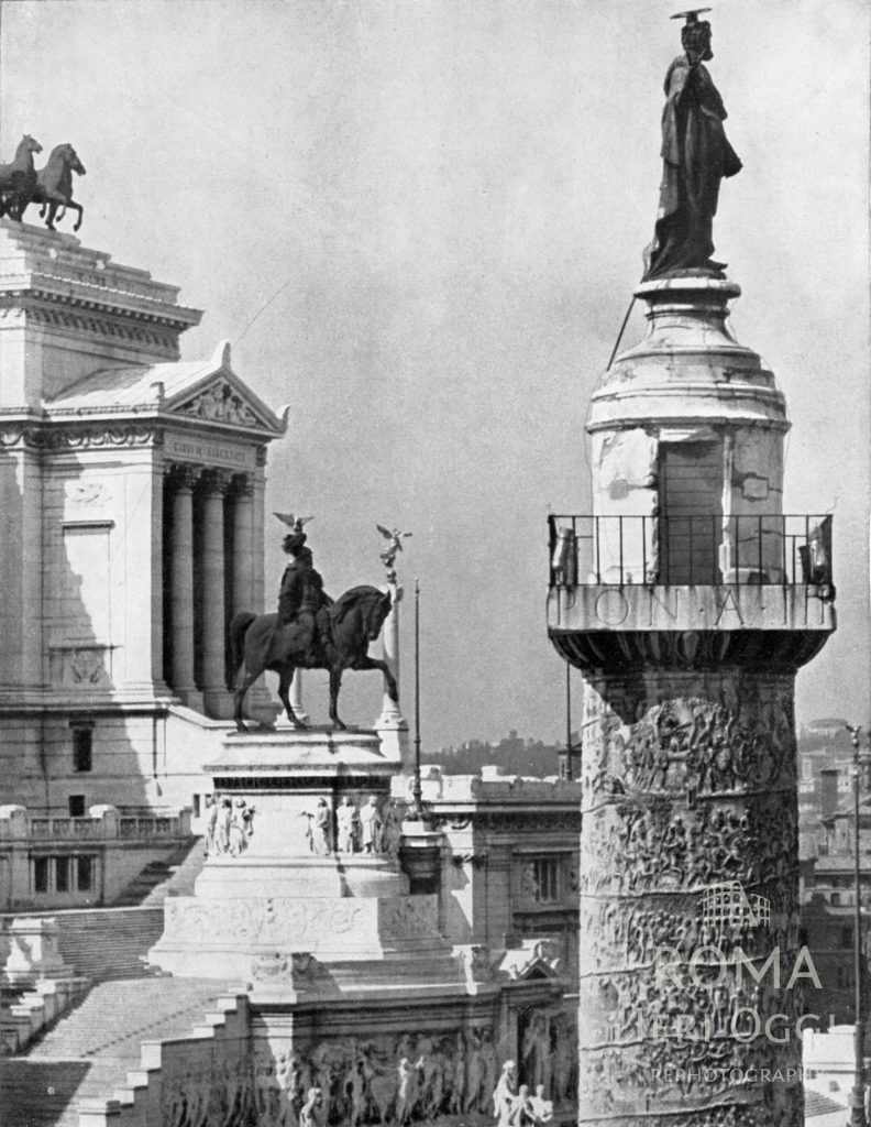 Colonna Traiana e Vittoriano