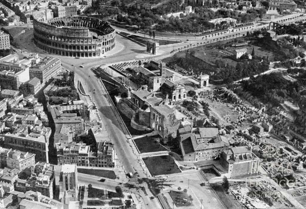 Colosseo e Foro