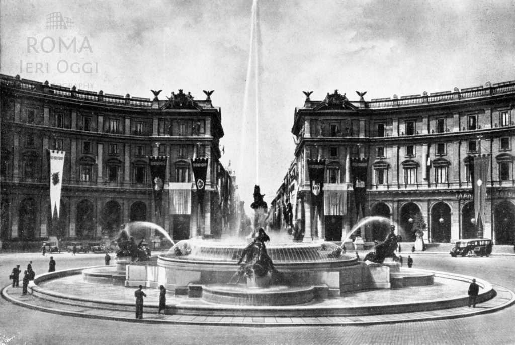 Piazza Esedra - Piazza della Repubblica