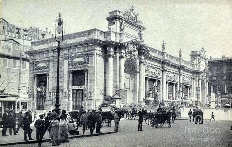 Piazza Colonna (1911)