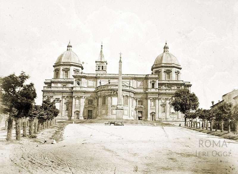 Piazza dell'Esquilino (1870 ca)