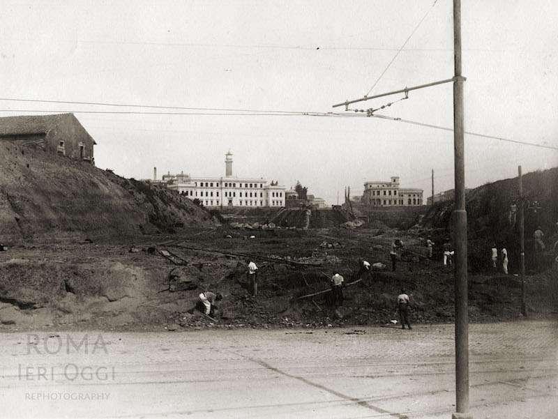 Piazzale del Verano (1930 ca)