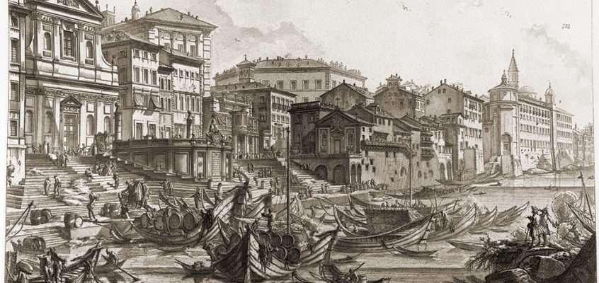 Porto di Ripetta (Piranesi, 1760 ca)