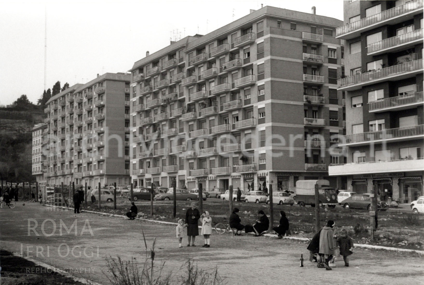 Trionfale (cederna, 1965) 6 foto - viale ammiragli +