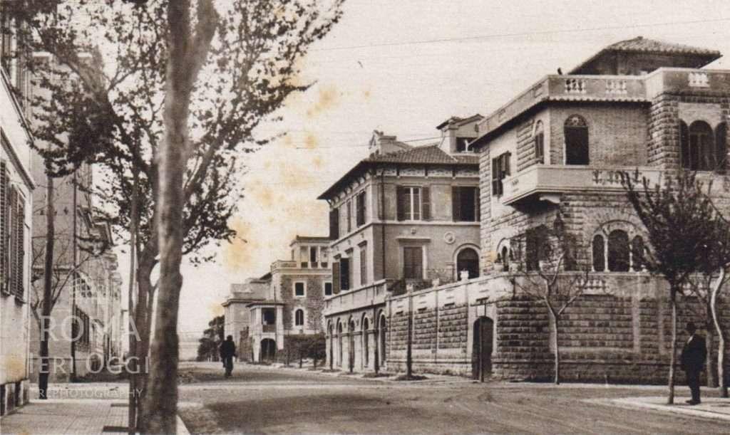 Via Alberto Mario (1935 ca)