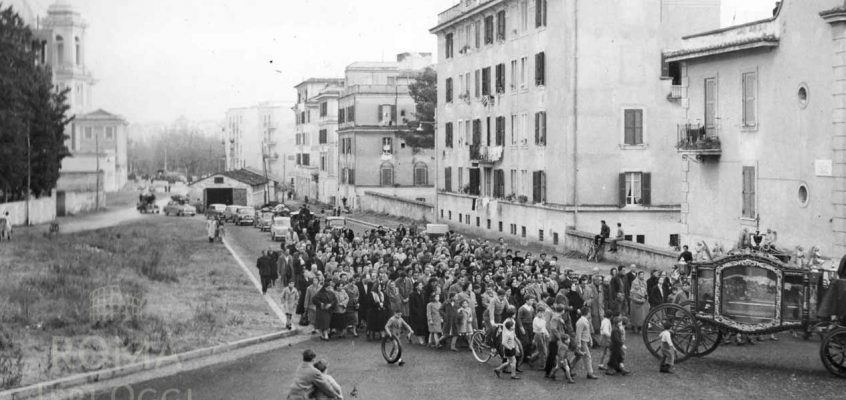 Via degli Orti della Farnesina (1950 ca)
