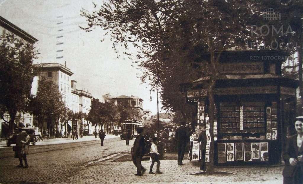 Via e piazza Cola di Rienzo (1930)