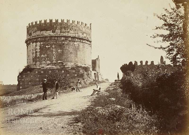 Via Appia Antica (1865 ca)