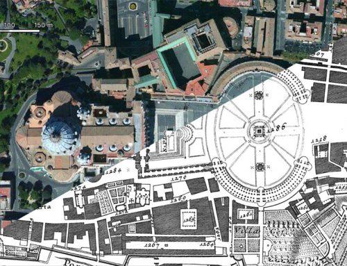 Google Vs. Nolli: Basilica di San Pietro