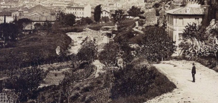 Panorama dal Palatino (1875 ca)