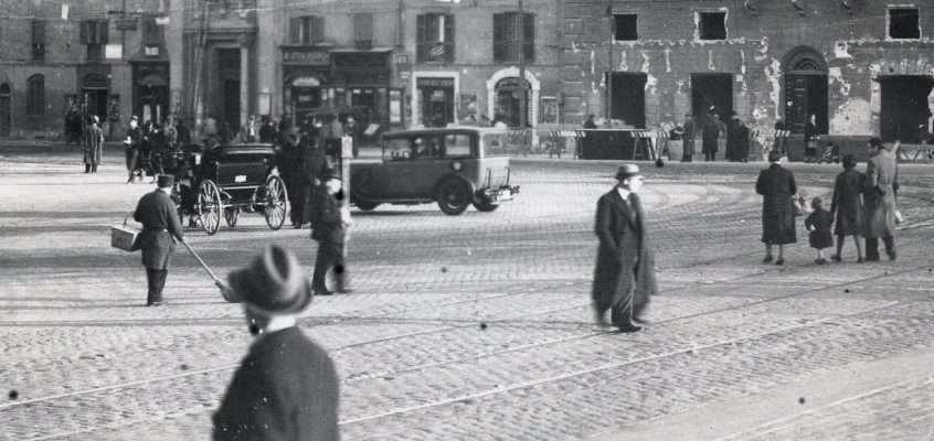 Piazza Rusticucci (Archivio Cederna, 1937)