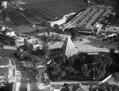 Piazzale Ostiense (1929 ca)