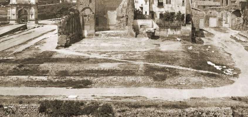 Foro Romano (1870 ca)