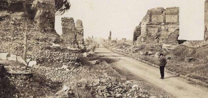 Via Appia Antica (1870 ca)