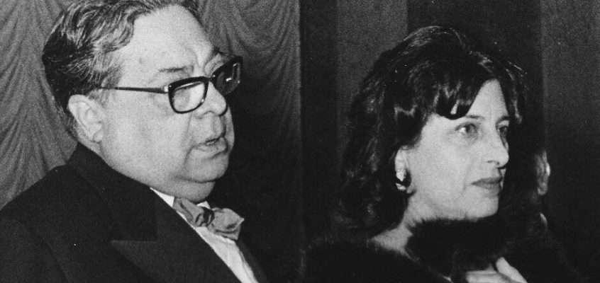 Aldo Fabrizi e Anna Magnani (anni '50/'60)