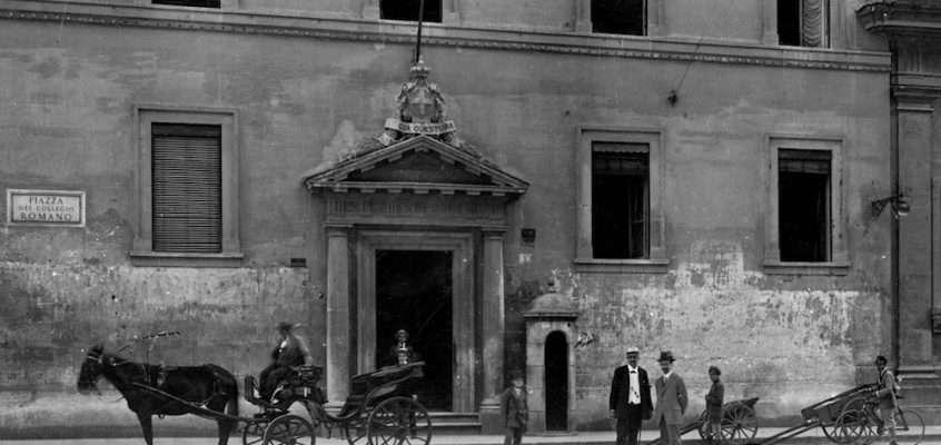 Piazza del Collegio Romano (Gatteschi, 1918)