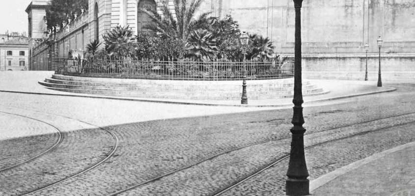 Largo Magnanapoli (1890 ca)