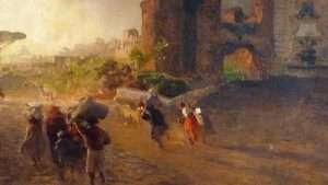 Paesaggio romano (Oswald Achenbach, 1905)