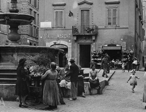 Piazza della Madonna dei Monti (1940)