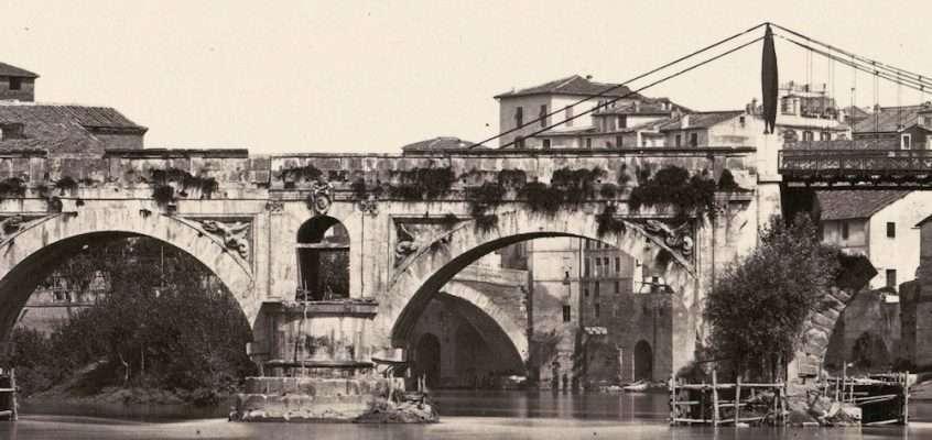 Ponte Rotto (1870 ca)