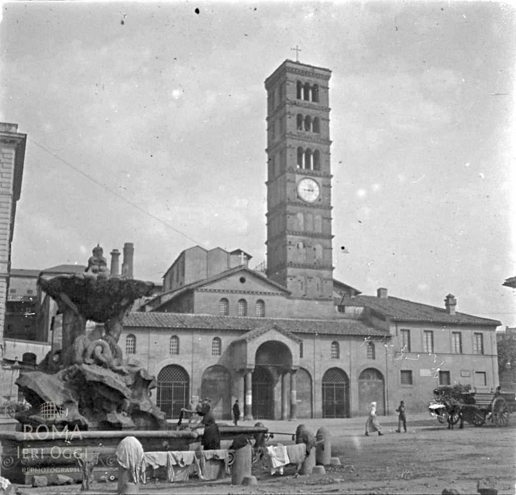 Piazza Bocca della Verita (Touzard , 1911)