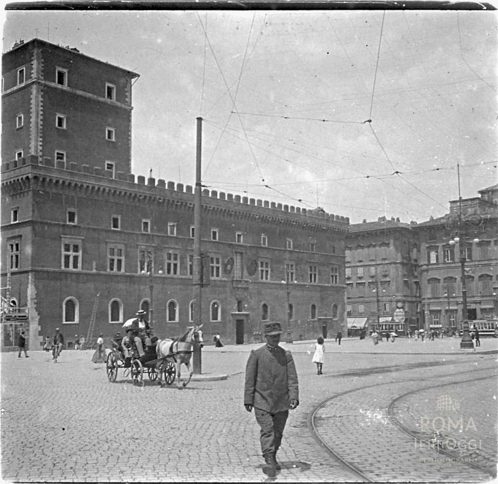 Piazza Venezia (Touzard , 1911)