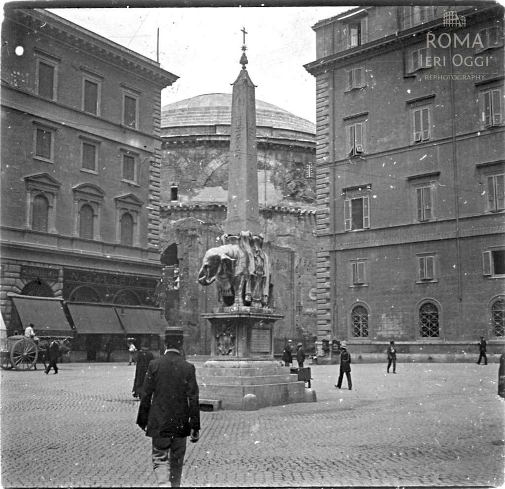 Piazza della Minerva (Touzard , 1911)