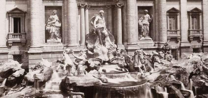 Fontana di Trevi (1890)