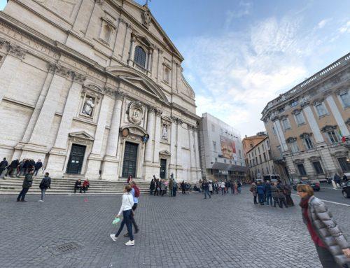 Piazza del Gesù a 360°