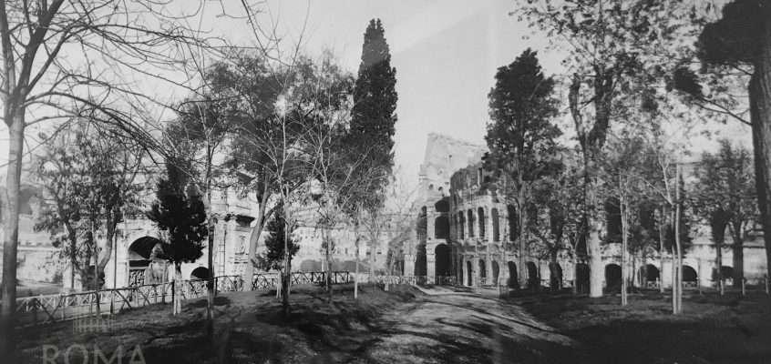 Piazza del Colosseo (1950 ca)