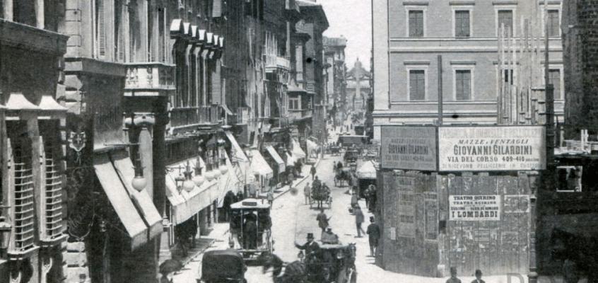 Via del Corso (1880)