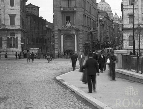 Piazza Pia (anni '30)